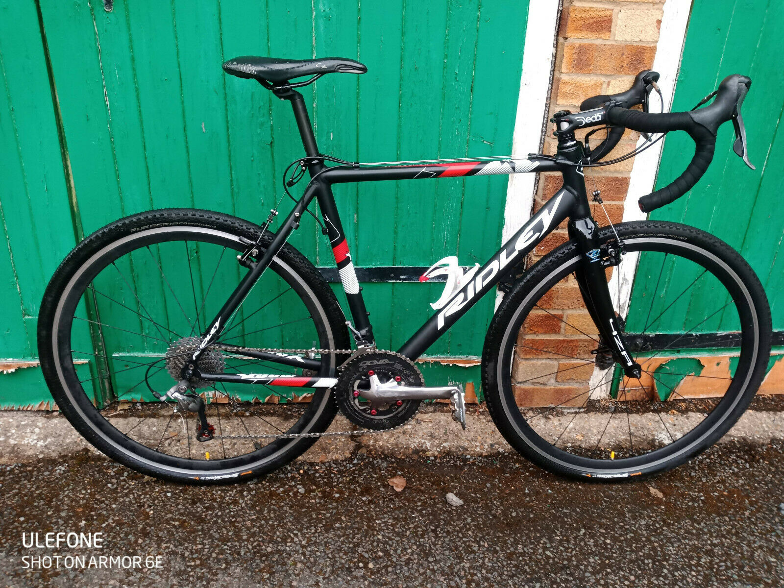 Ridley X Bow 56cm large cyclocross CX bicycle racer custom